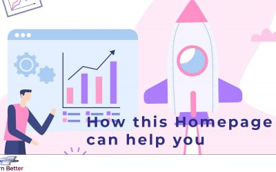 How this Homepage Can Help You